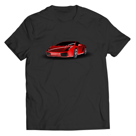 Shirt - Limited Edition - Red Exotic Sports Car 1