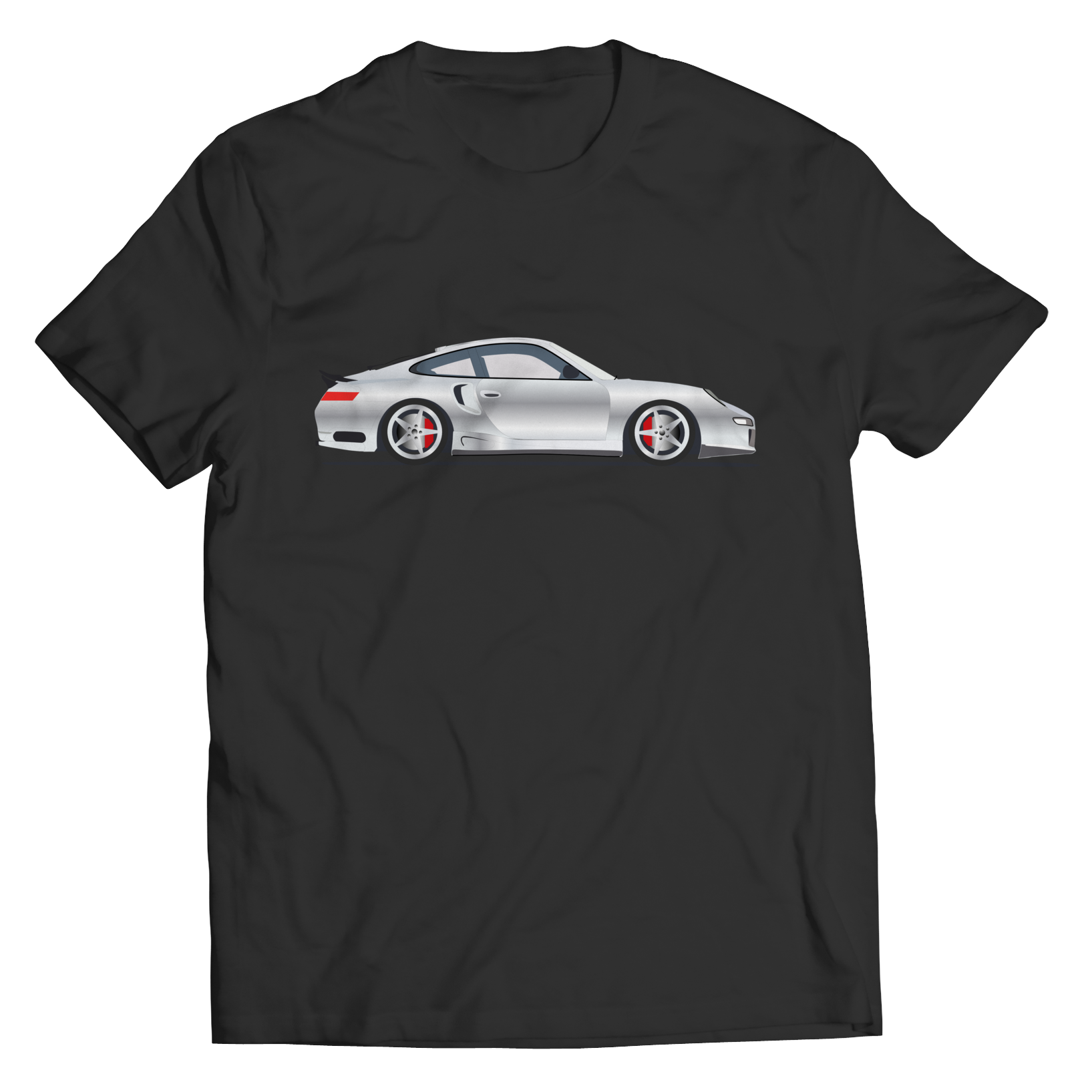Shirt - Limited Edition - Silver Exotic Sports Car 1