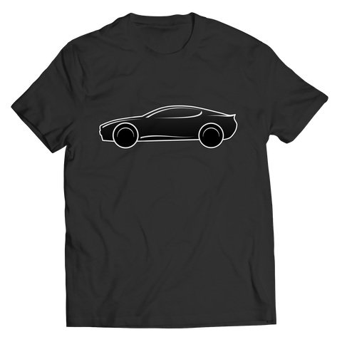 Shirt - Limited Edition - Black Exotic Sports Car 1