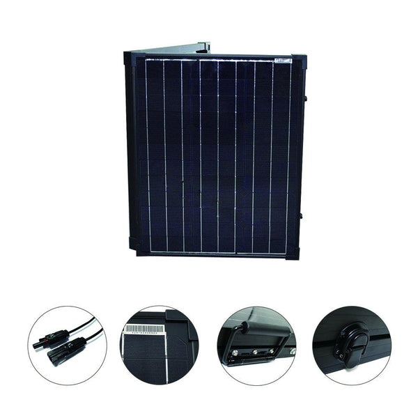 100W Foldable Solar Panel Expansion Suitcase
