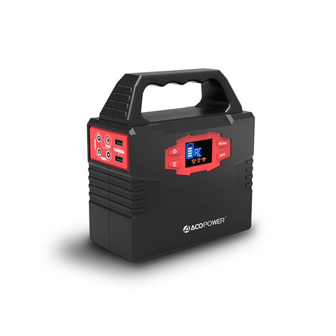 ACOPOWER 150Wh Portable Solar Generator