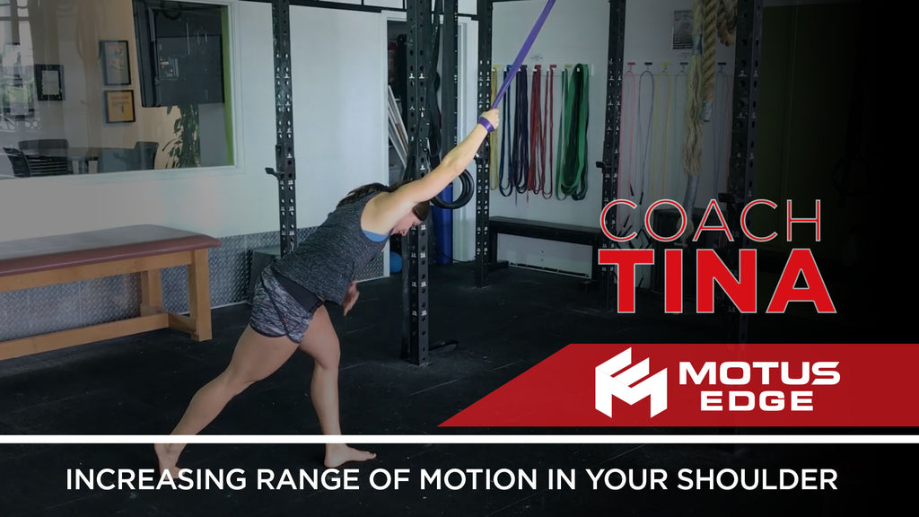 Coach Tina - Increasing Shoulder Range of Motion