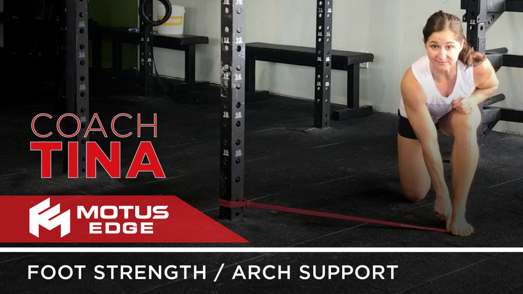 Coach Tina Helps Strengthen Your Foot / Arch