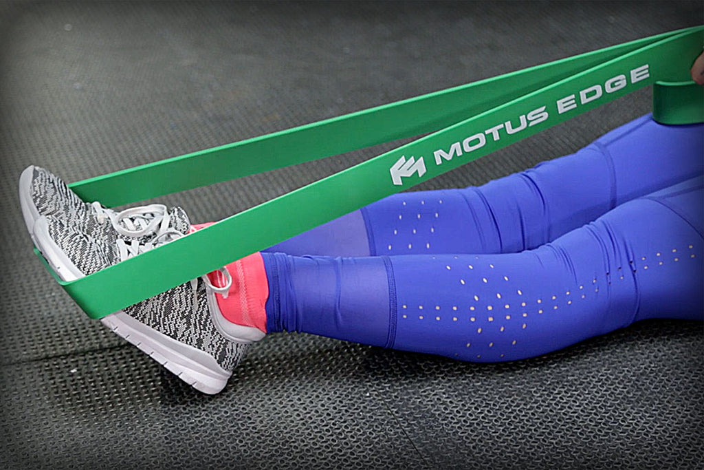Increasing Your Poor Ankle Range of Motion With a Motus Edge Resistance Band