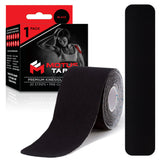 Motus Tape Elastic Cotton Kinesiology Tape - Black