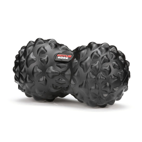 Motus Edge Double Massage Ball - Great for Rehab, and Myofascial Release