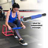 Motus Edge Massage Stick, Great for Deep Tissue work, Ball bearing rollers for smooth action