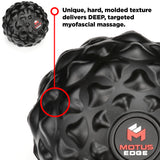 Motus Edge Single Massage Ball - Great for Rehab, and Myofascial Release