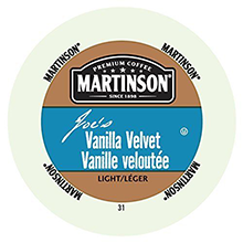 Joe's Vanilla Velvet Coffee