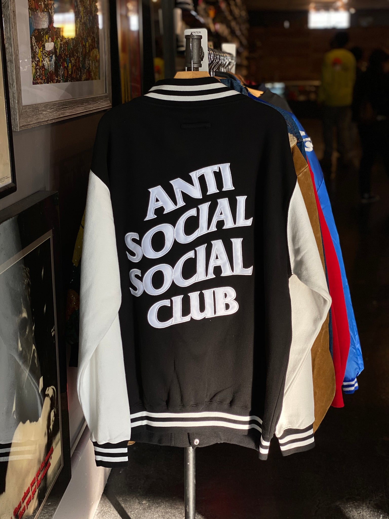 Anti Social Social Club Varsity Jacket