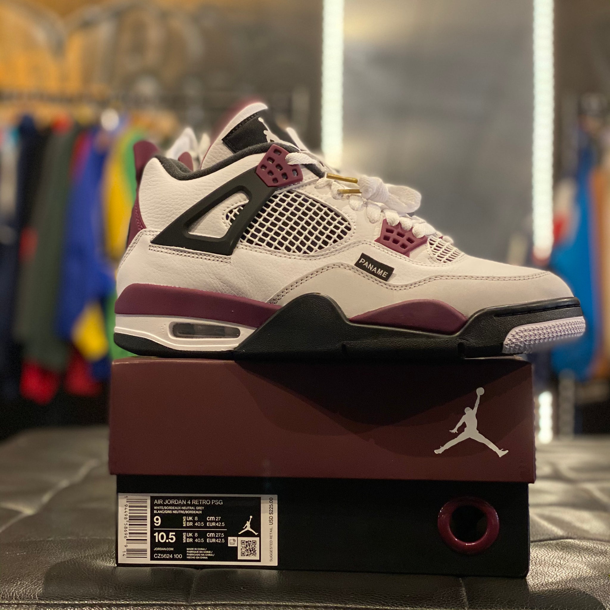 "Jordan 4 Retro ""PSG Paris Saint Germain"""