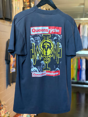 Vintage 1988 Queensrÿche Operation Mindcrime Music Tee