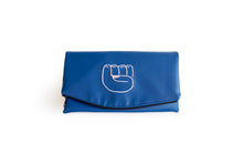 Sea Blue Revolution Clutch
