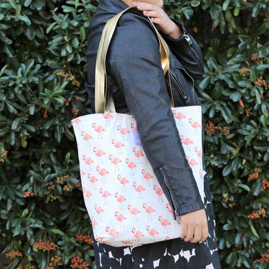 What the Flock Reversible Tote