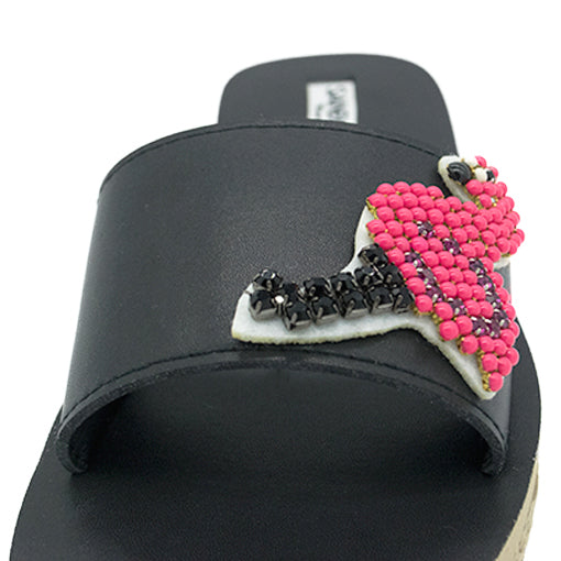 Flamingo - Waterproof Espadrille Flat
