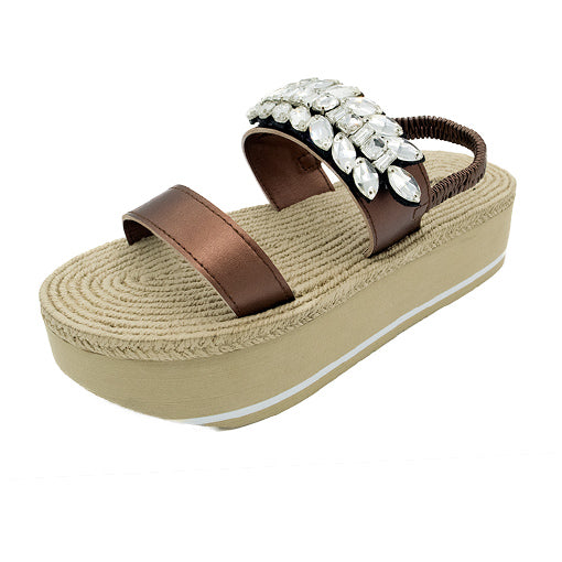 Smith Double- Waterproof Espadrille Platform