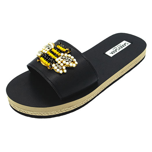 bee waterproof flat women espadrille