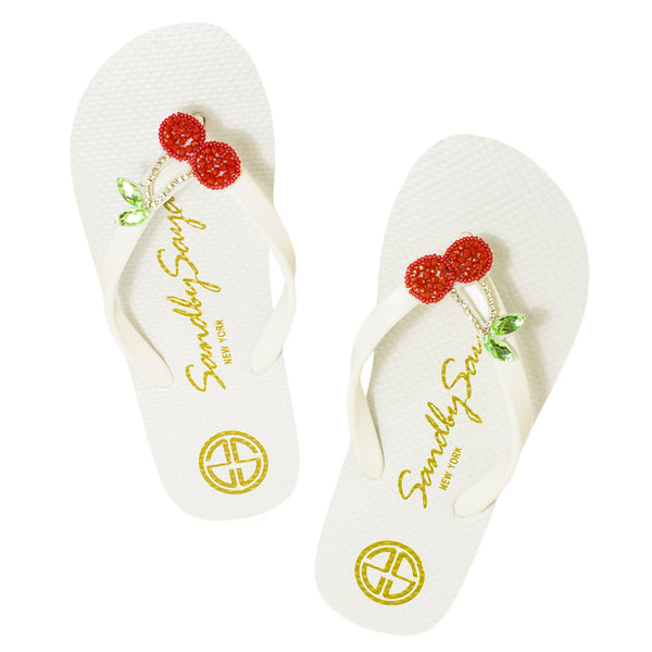 Cherry - Big Kids Sandal, Cherry Red, Cherry