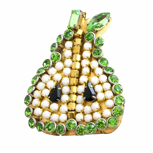 Pear - Brooch