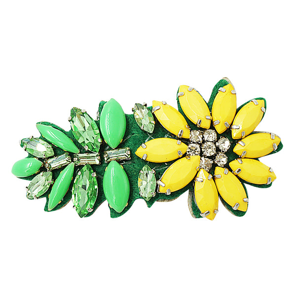 Yellow Daisy Kids Hair Pin
