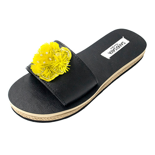 Noho Yellow- Waterproof Espadrilles Flat Sandals - Sand by Saya
