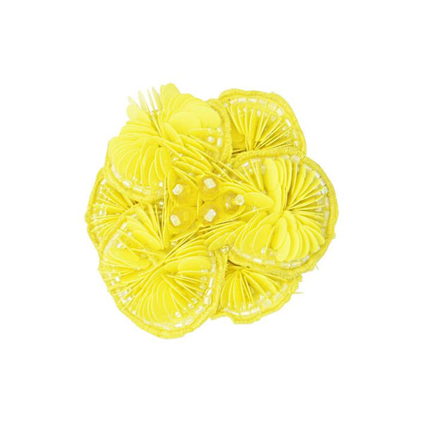 Yellow Flower-Kids Hair Pin