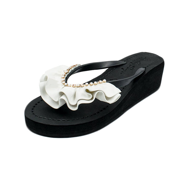 White Rockaway – Women's Mid Wedge
