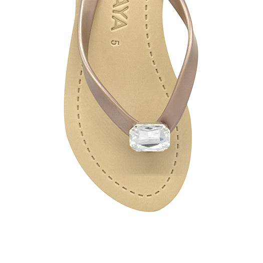 Square Studs - Women's Mid Wedge