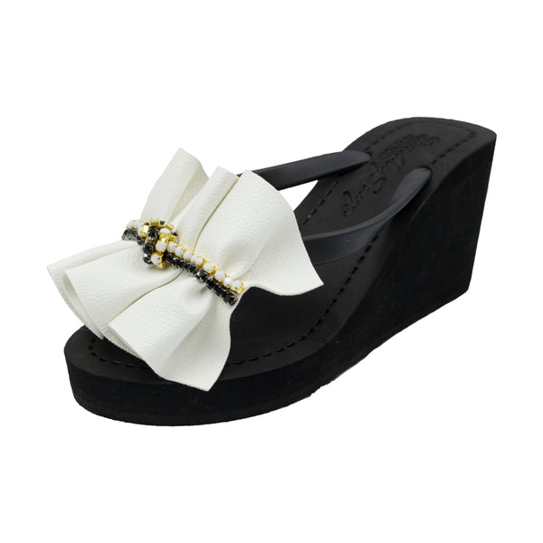 White Hudson - Women's High Wedge