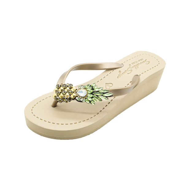 Pineapple - Women's Mid Wedge