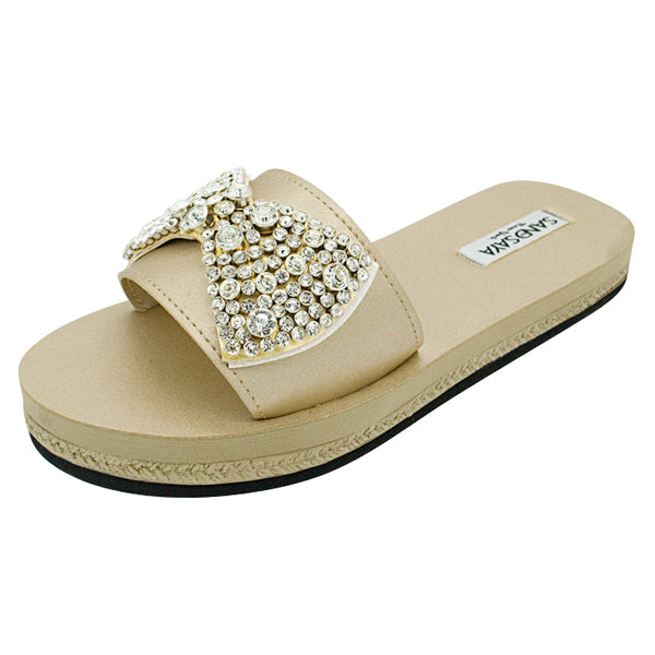 Waterproof women's espadrille flat
