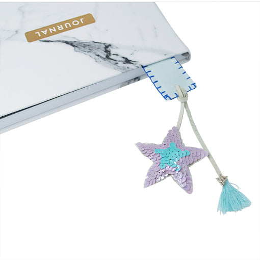 Hamptons Blue - Personalized Bookmark