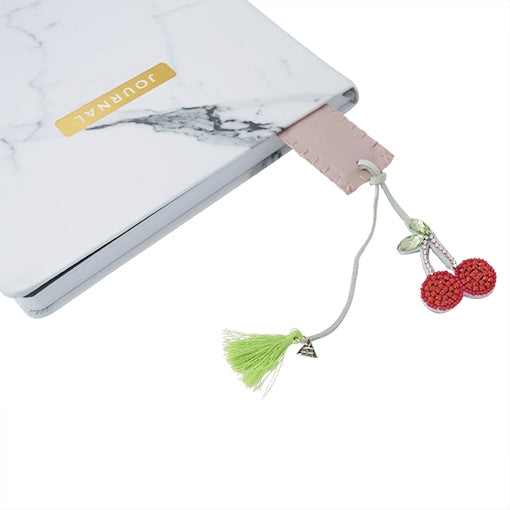 Cherry Personalized Bookmark