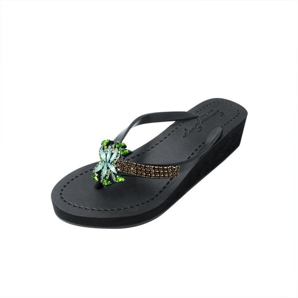 Palm Tree Ex Mid Wedge Flip Flop