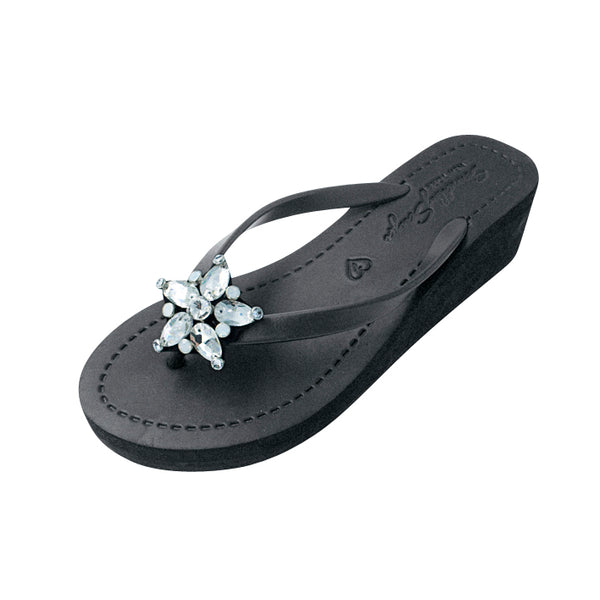 One Star Mid Wedge Flip Flop