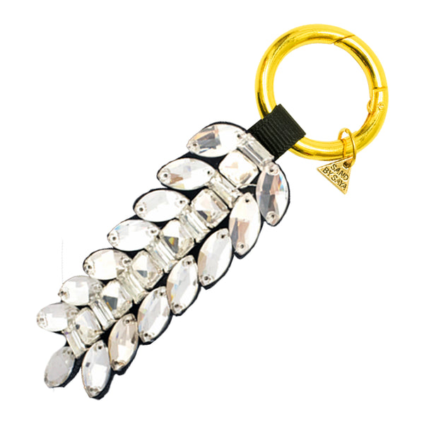 Crystal stones, key holder