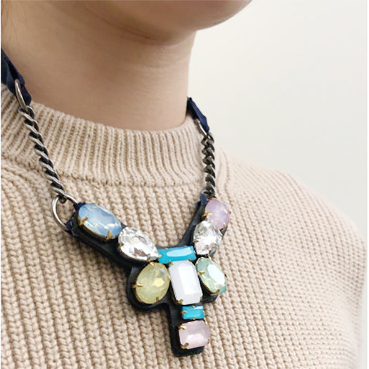 Dumbo - Ribbon Collar Necklace