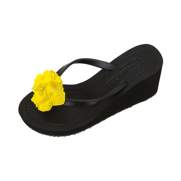 Yellow flower sandal