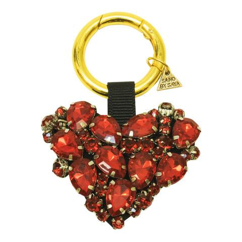 Image  Red Chelsea Heart Key Holder Keychain  Cute Gorgeous