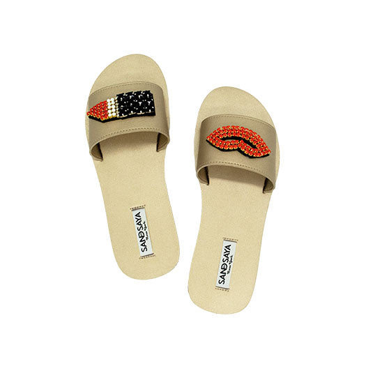 Lips - Waterproof Espadrille Flat
