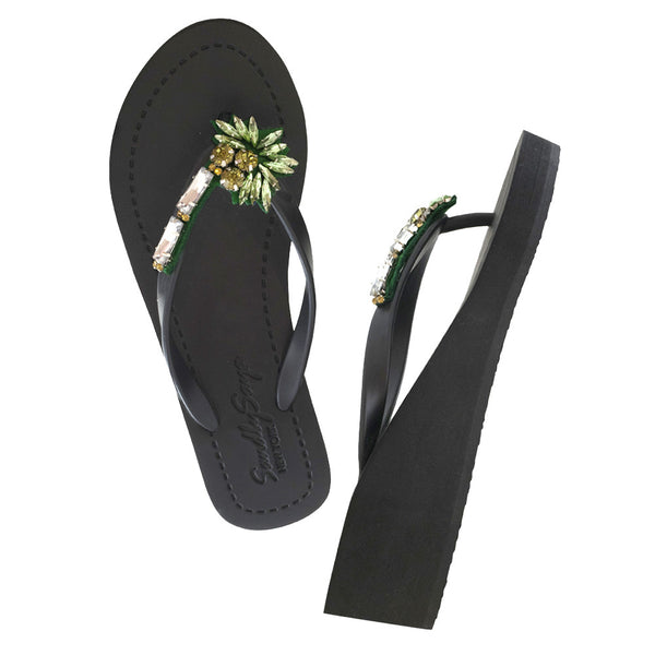 Palm tree sandal