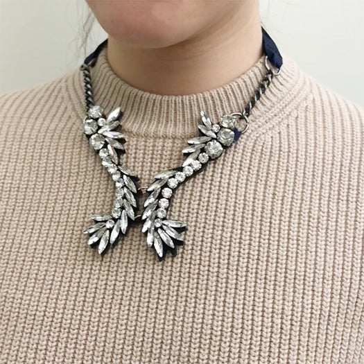 Nomad- Ribbon Collar Necklace