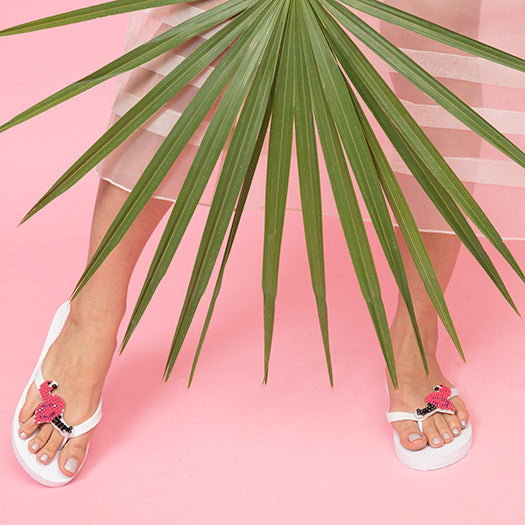 Flamingo - Women's Flat Sandal