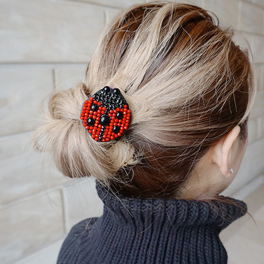 Lady bug red