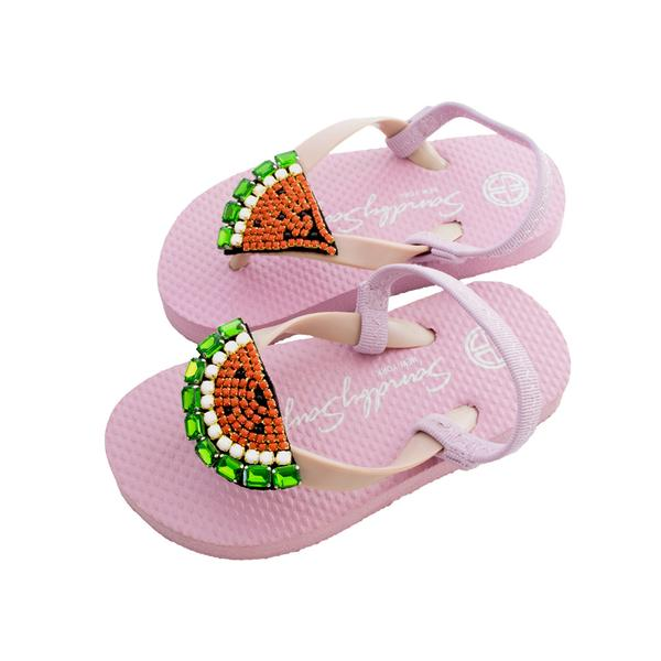 Watermelon Baby and Kids Pink Sandals