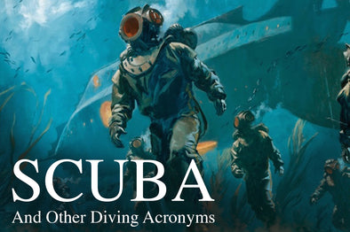 What does SCUBA stand for? (Plus other diving acronyms)