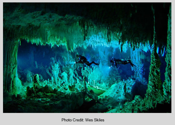 Cave Diving Spring