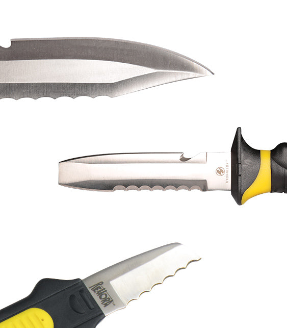 UK Hydralloy Dive Knives