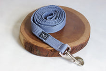 Blue Linen Leash