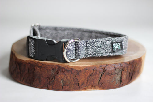 Grey Tweed Collar